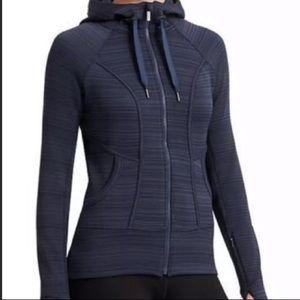 NWOT Athleta Gray Full Zip Sweatshirt Hoodie